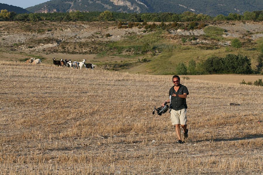 Otakáro M. Schmidt při natáčení v Jižní Americe
