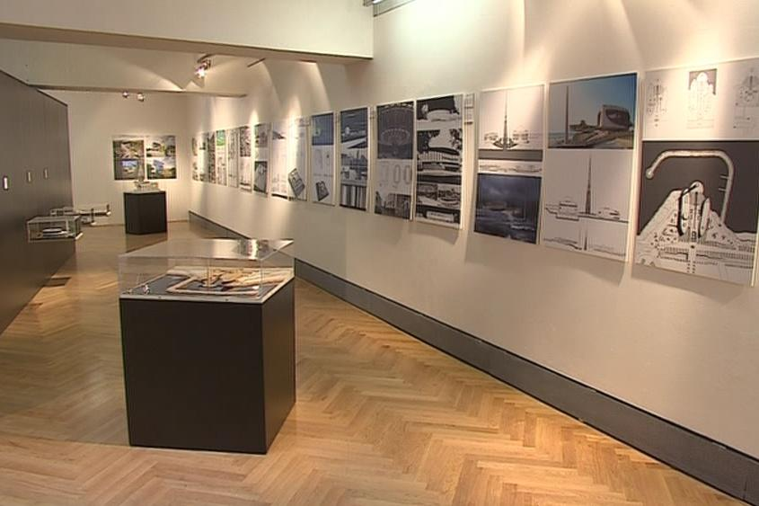 Výstava díla architekta Ivana Rullera