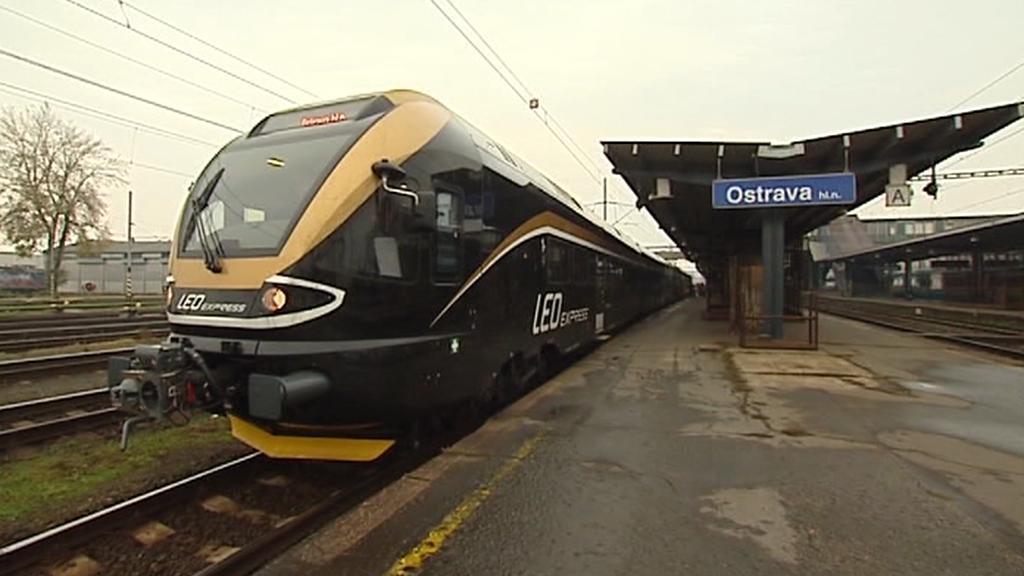 Leo Express v Ostravě