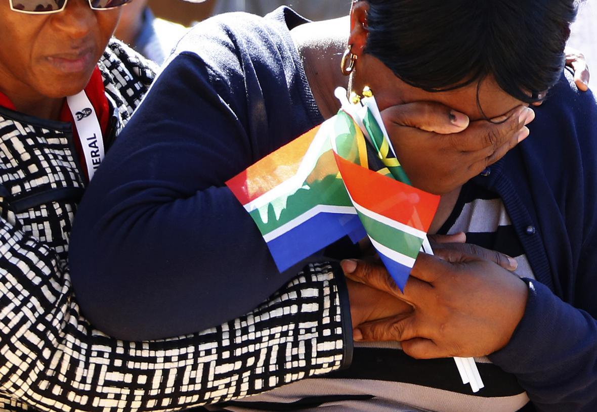 Jihoafričané truchlí za Mandelu