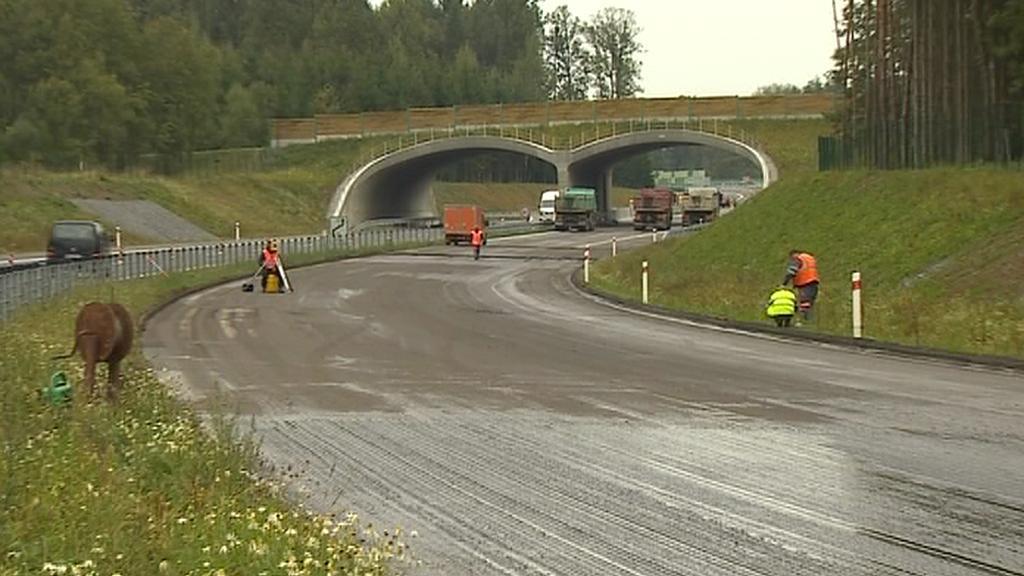 Oprava dálnice D3
