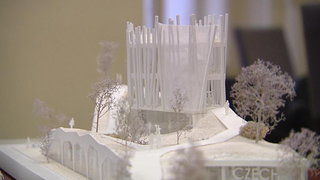 Jeden z modelů pavilonu pro Expo 2015