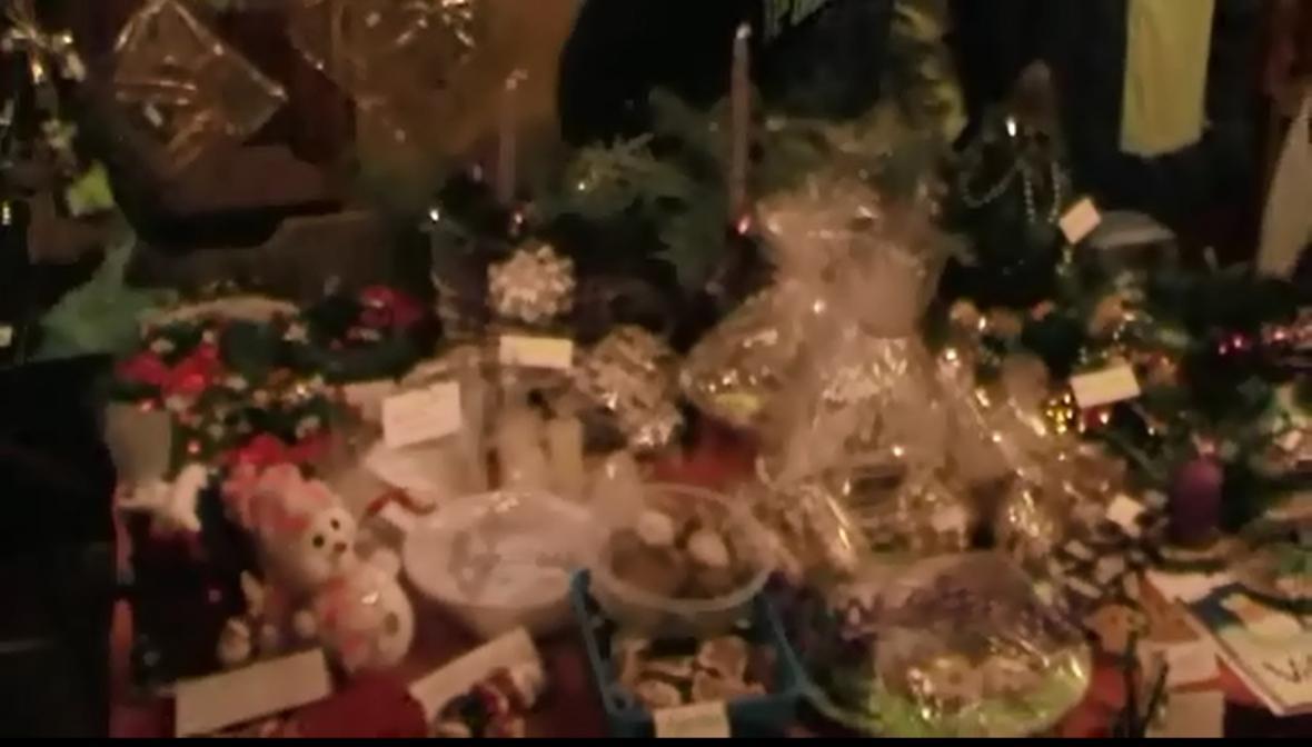 Výrobky vánočního jarmarku