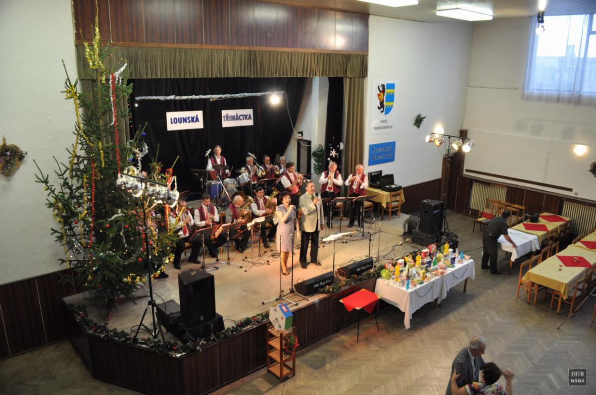 Koncert Lounské třináctky v Dobroměřicích