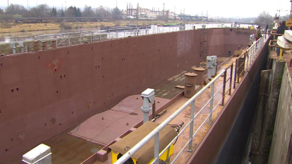 Největší loď vyrobená v Česku
