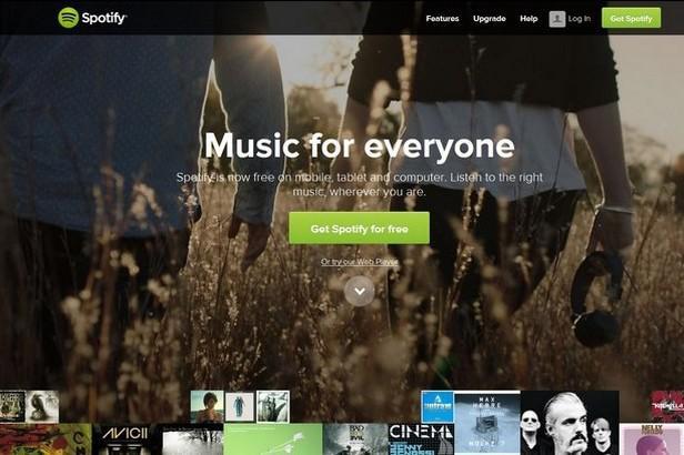 Hudební knihovna Spotify