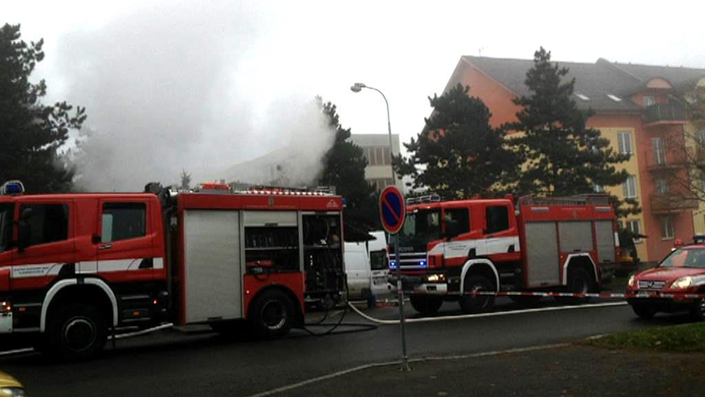 Výbuch v Plzni