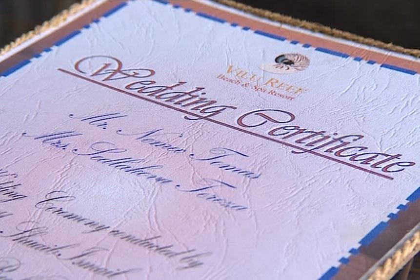 Svatební certifikát ze zahraničí