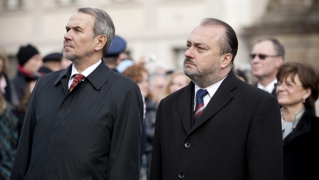 Petr Hájek a Ladislav Jakl