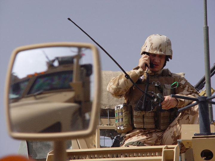 Příslušník 8. jednotky PRT, Pule Alam Afghánistán
