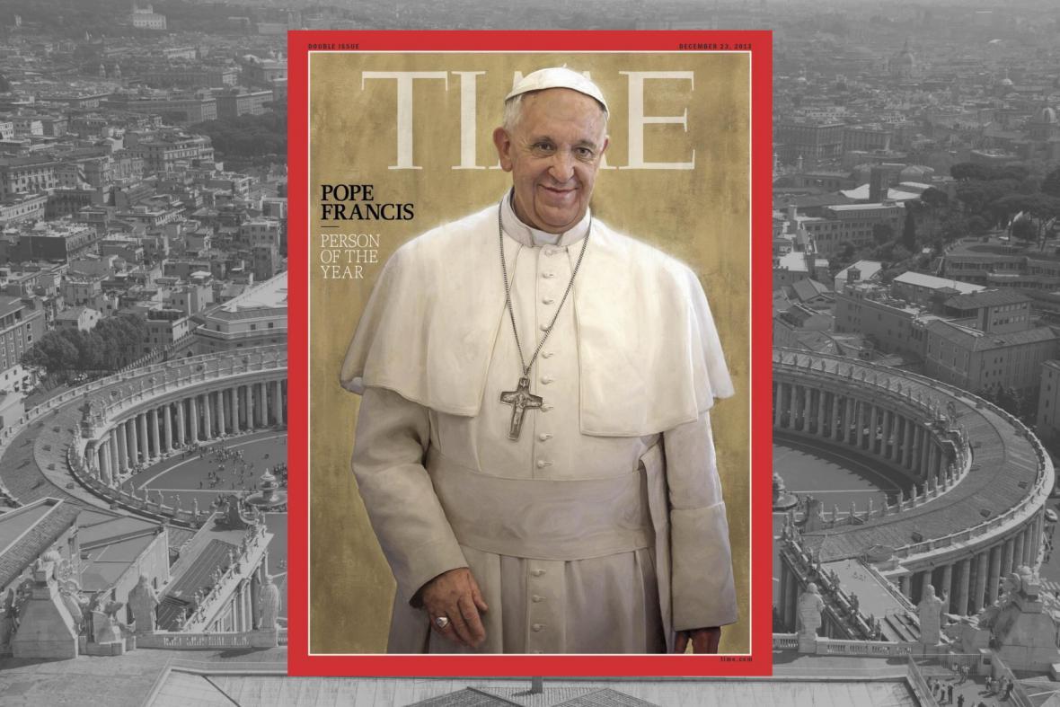 Papež František je osobností roku
