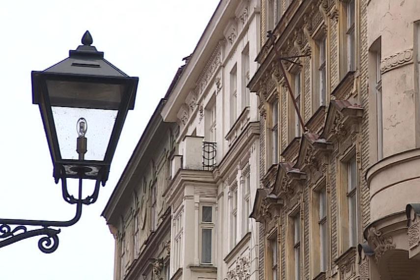 Historická zástavba v centru města