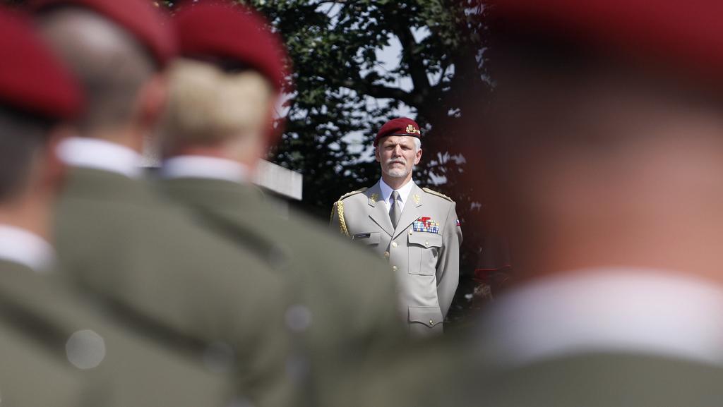 Náčelník generálního štábu armády Petr Pavel