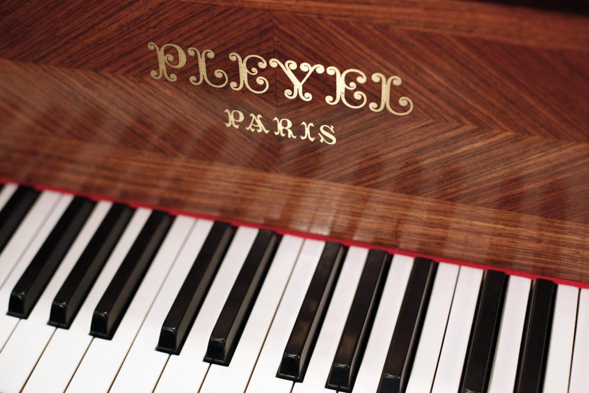 Piano značky Pleyel
