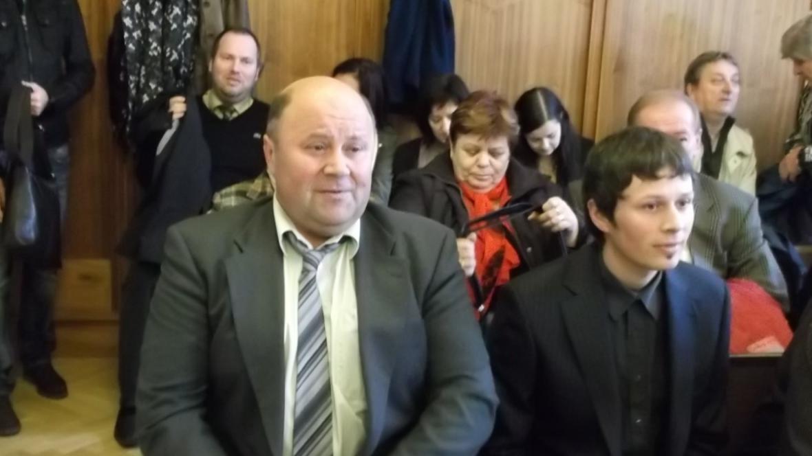 Starosta Hajan Jaroslav Kokrhánek (nez.) u soudu