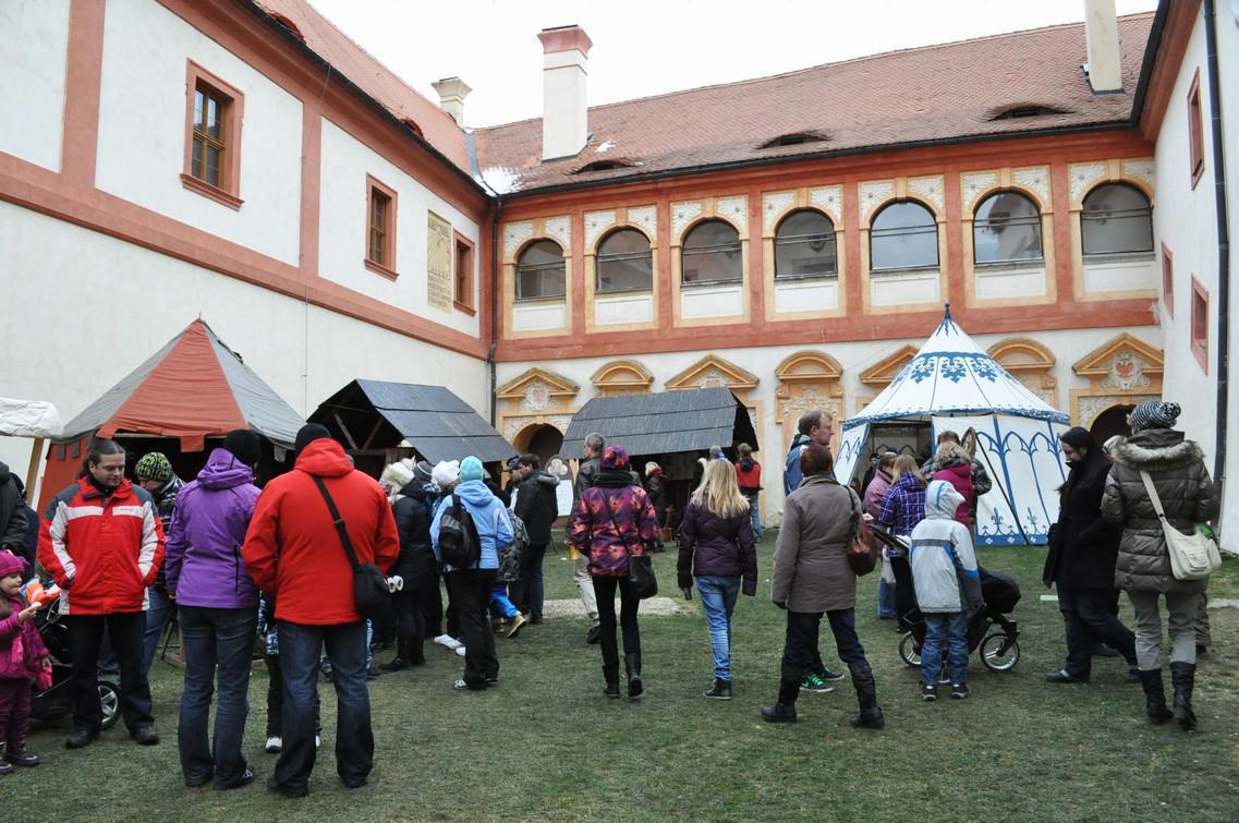 Adventní setkání na zámku Nový Hrad v Jimlíně