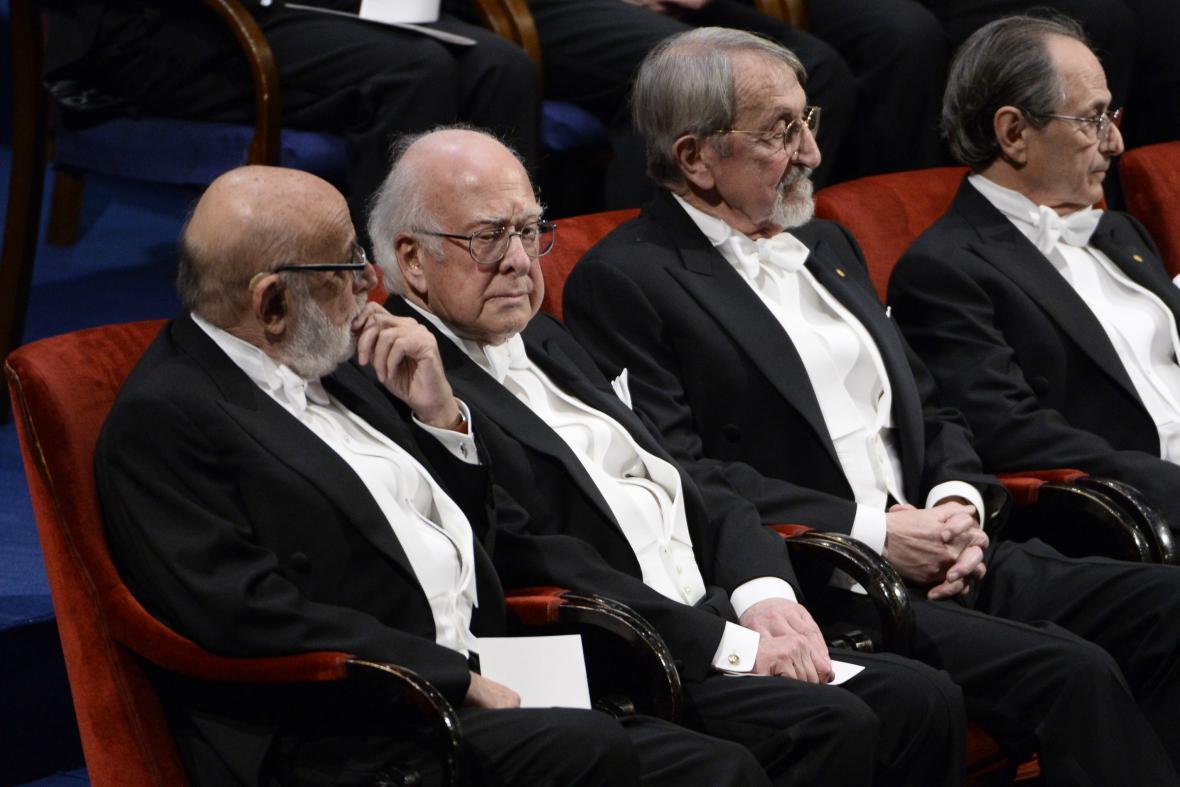 Laureáti Nobelových cen na slavnostní ceremonii