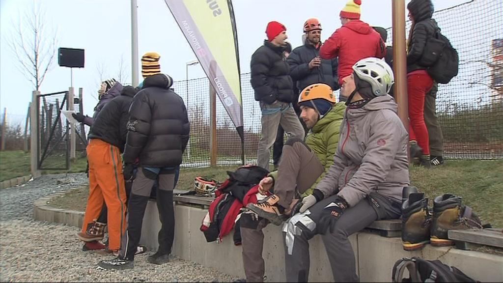 O mistrovské tituly v drytoolingu na obtížnost lezci soutěžili už počtvrté