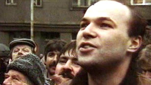 Demonstrace na Škroupově náměstí