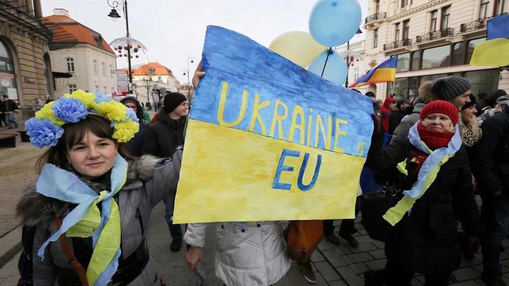 Protesty proti ukrajinské vládě v Polsku