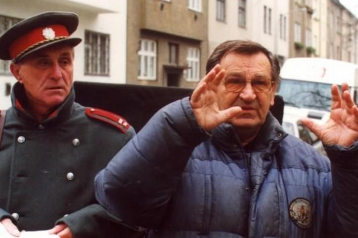 Režisér Antonín Moskalyk (vpravo)