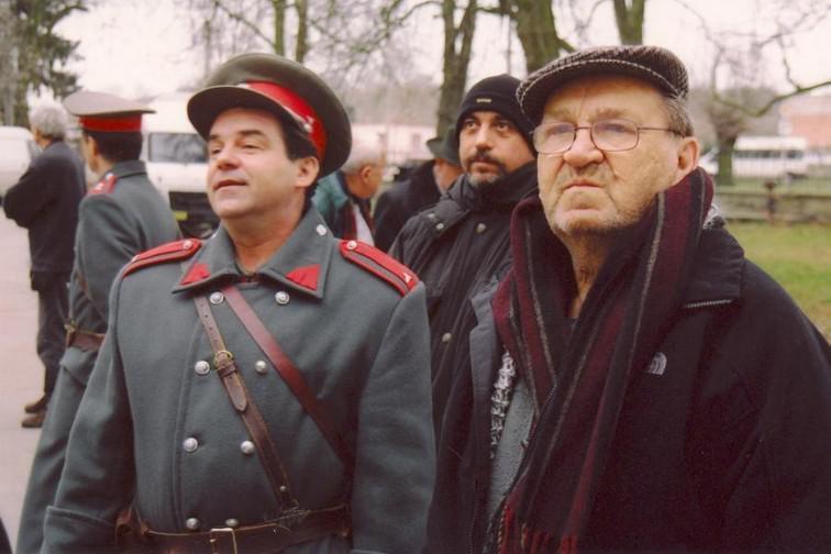 Erik Pardus a režisér Antonín Moskalyk