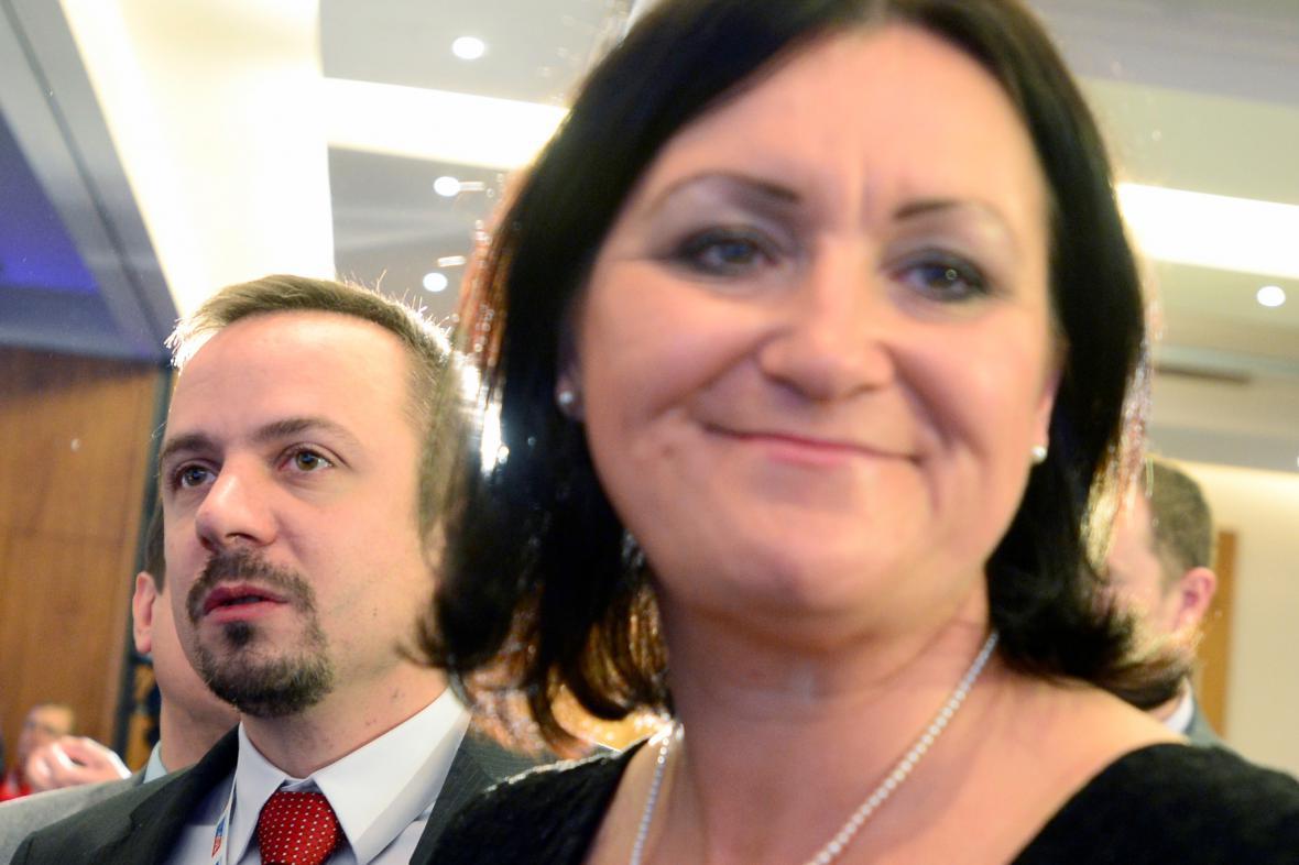Marek Ženíšek a Helena Langšádlová