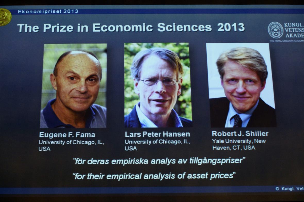 Laureáti Nobelovy ceny za ekonomii