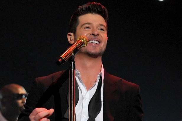 Robin Thicke se raduje z nominací na Grammy