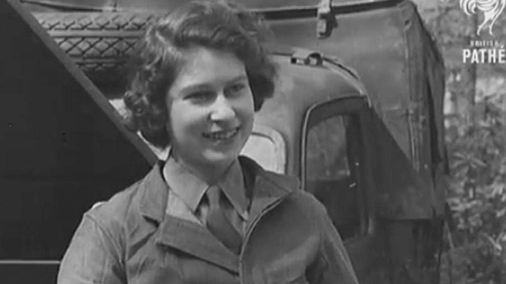 Královna Alžběta jako čtrnáctiletá