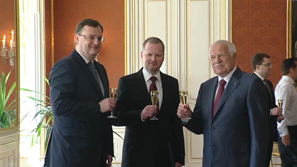 Klaus jmenoval Fialu ministrem školství