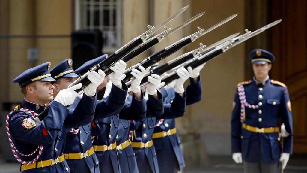 Oslavy výročí založení Hradní stráže