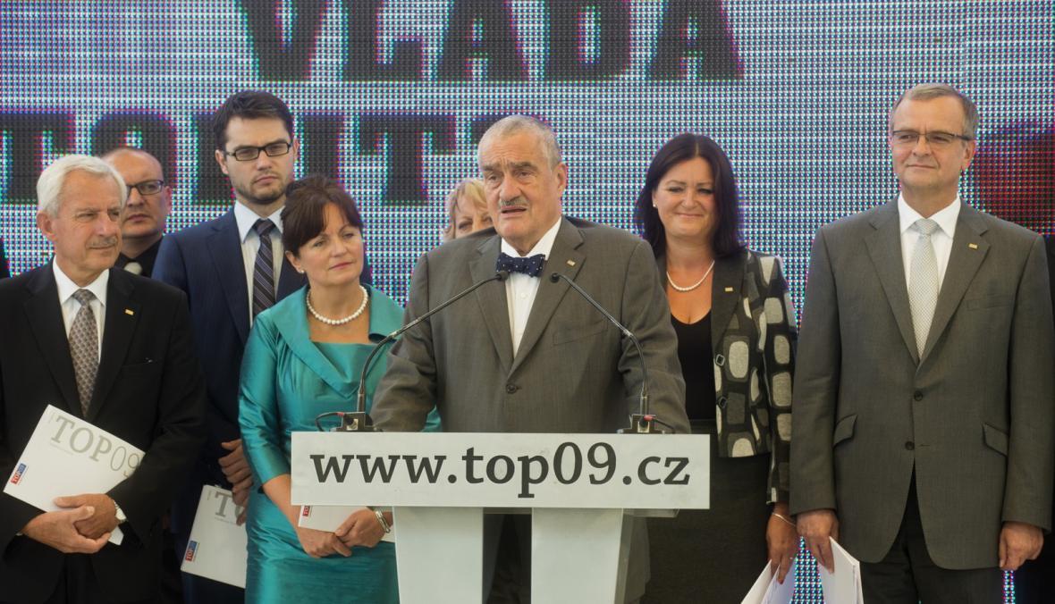 Předsednictvo strany TOP 09