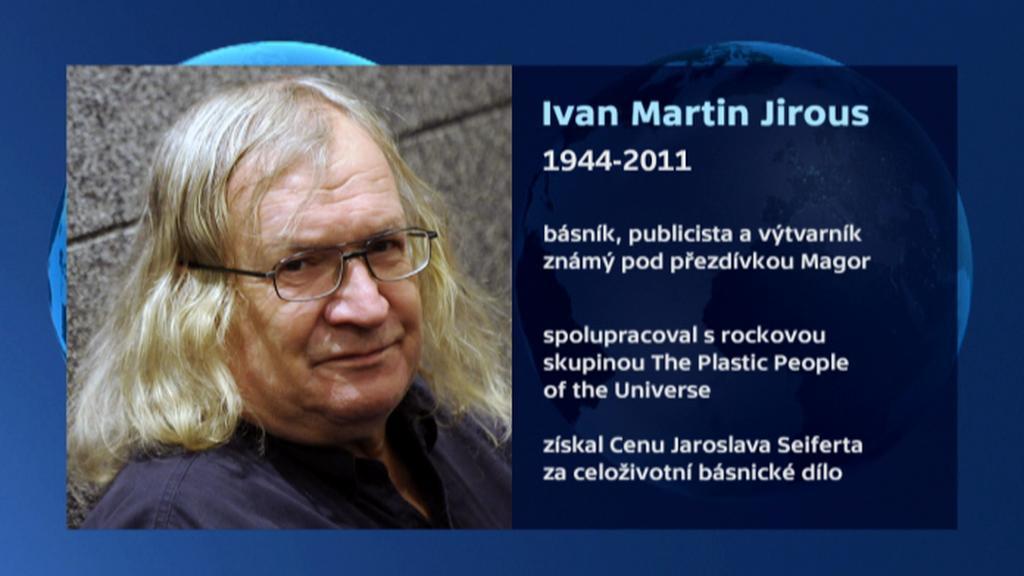 Vizitka Ivana Martina Jirouse