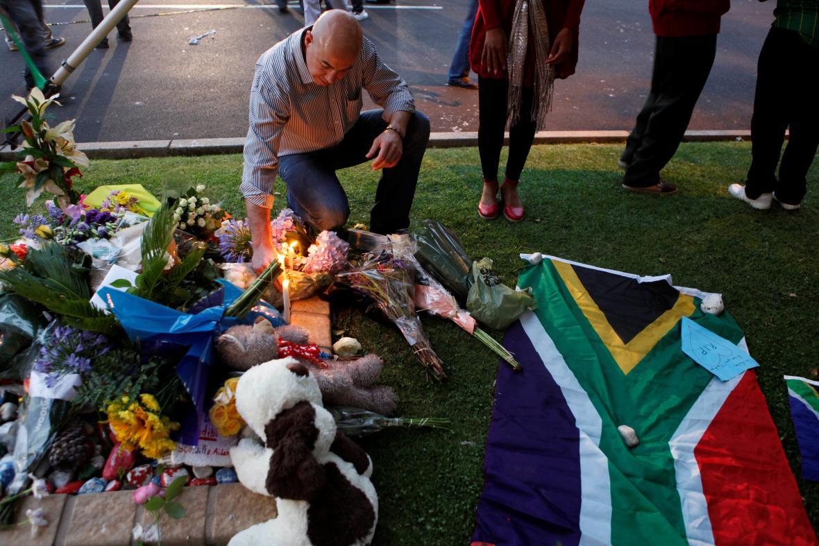 Zemřel Nelson Mandela