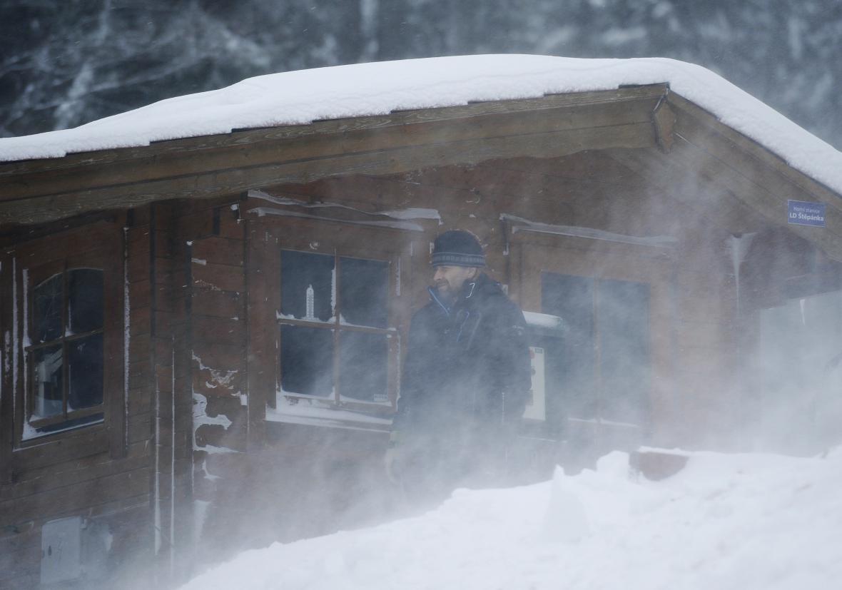 Ski areál Rejdice v Kořenově zahájil za silného větru sezonu