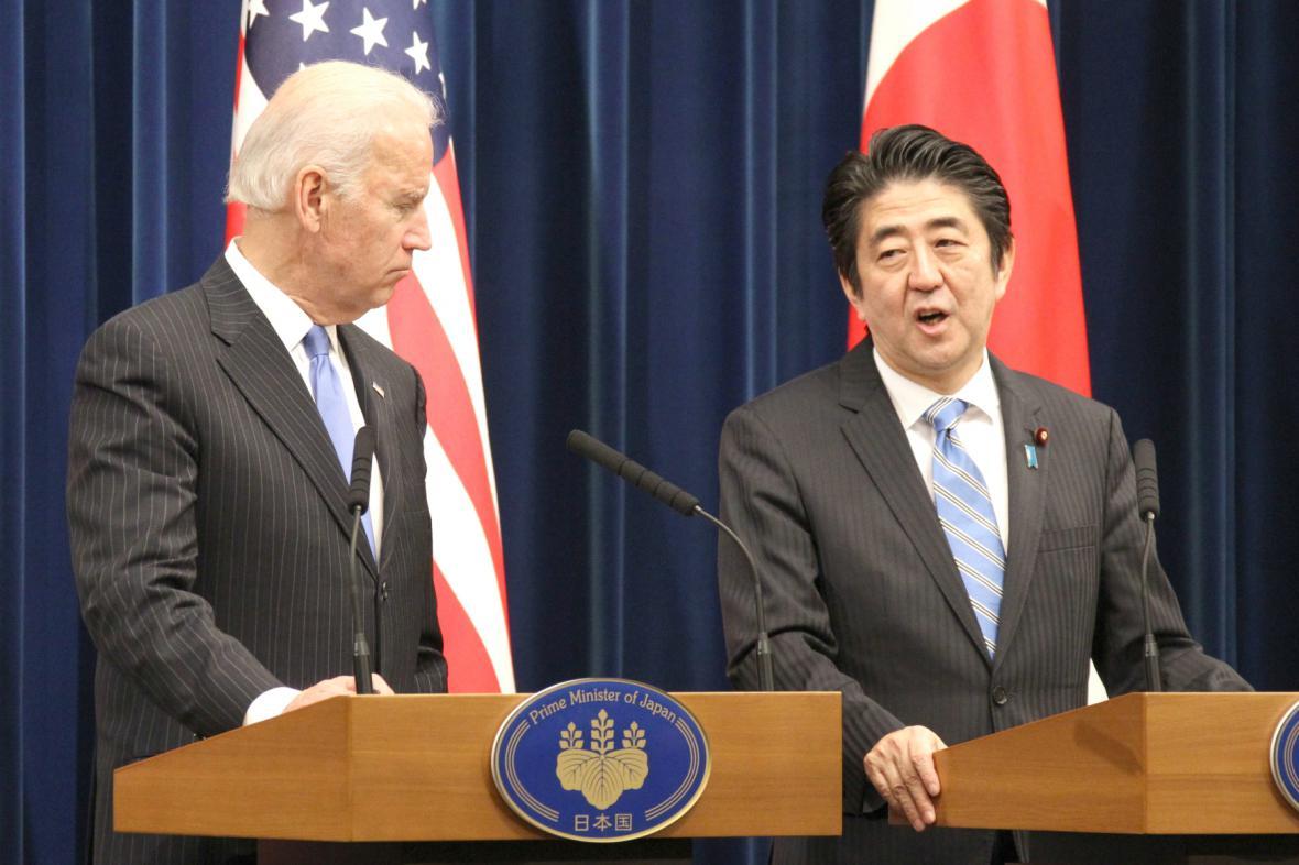 Joe Biden v Japonsku
