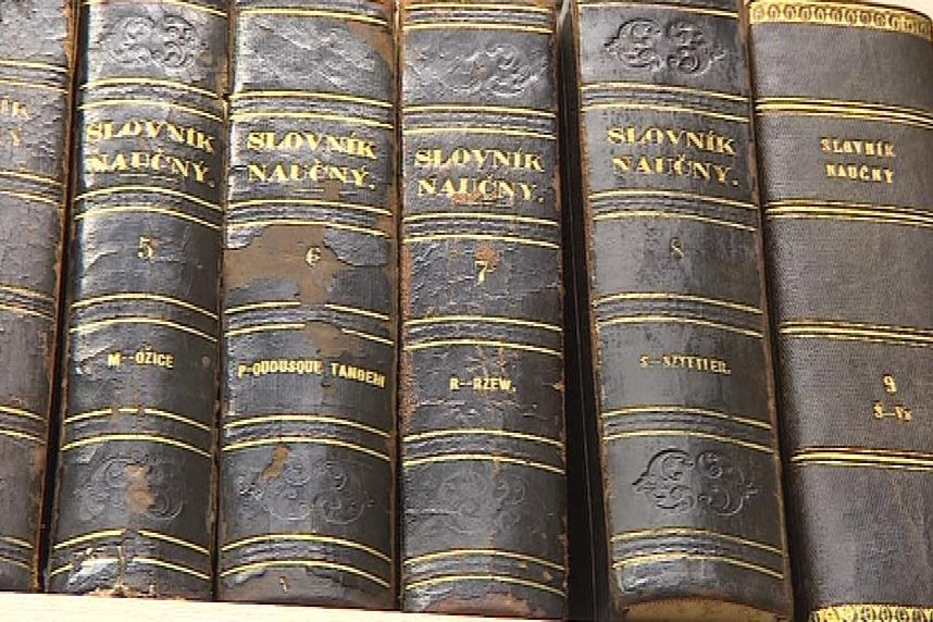 Staré naučné slovníky