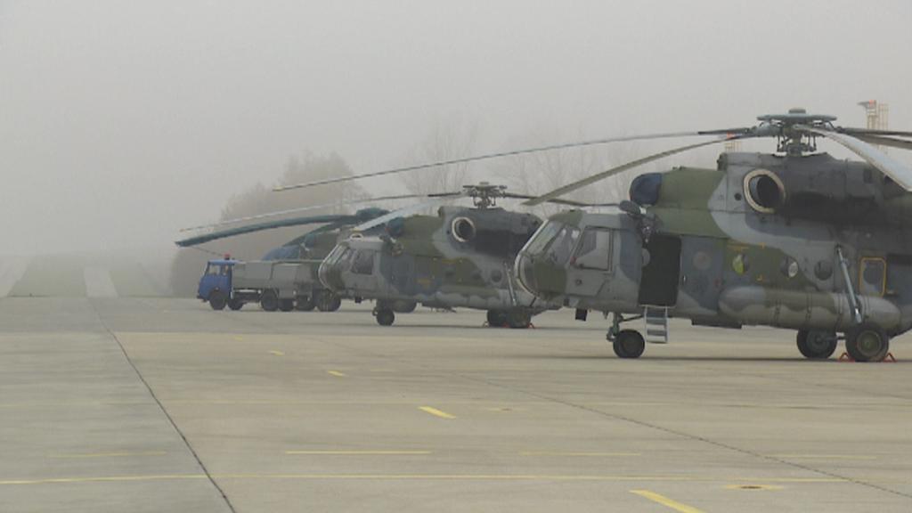 Mi-171 v Náměšti nad Oslavou