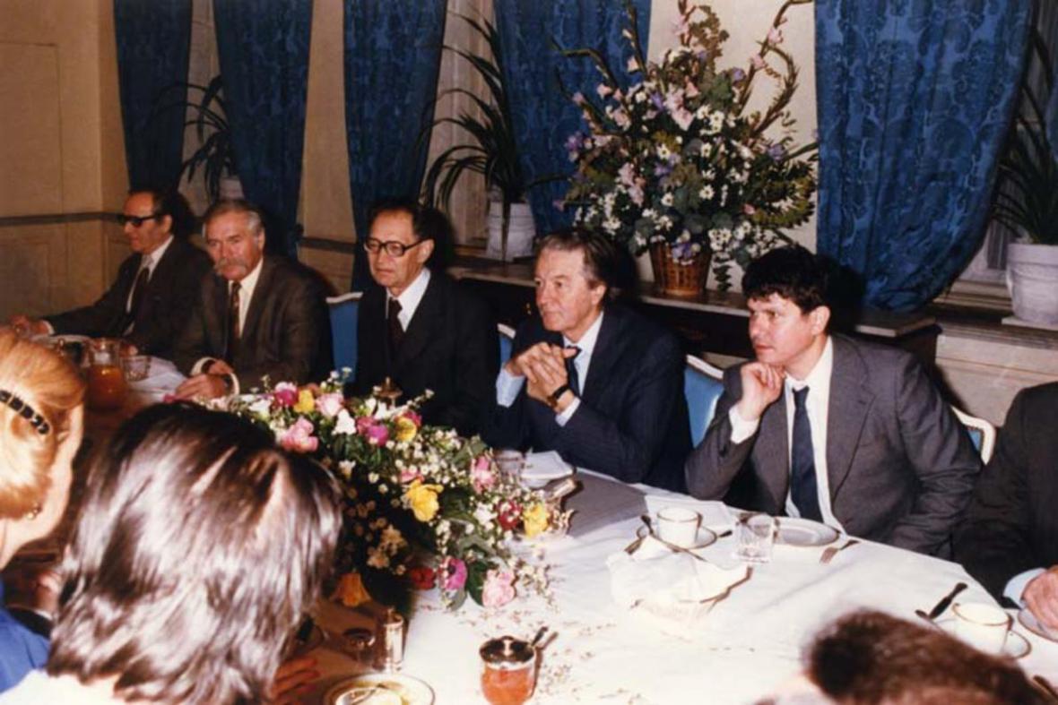 Snídaně s Mitterrandem