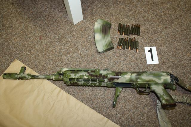 Zadržené zbraně