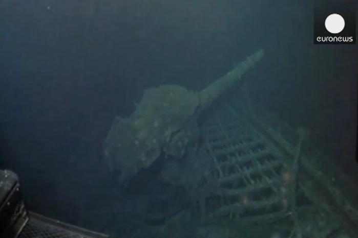 U břehů Havaje byla objevena obří japonská ponorka
