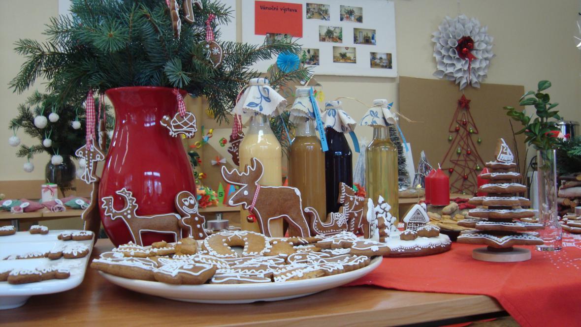 Vánoční výstava - Vinoř