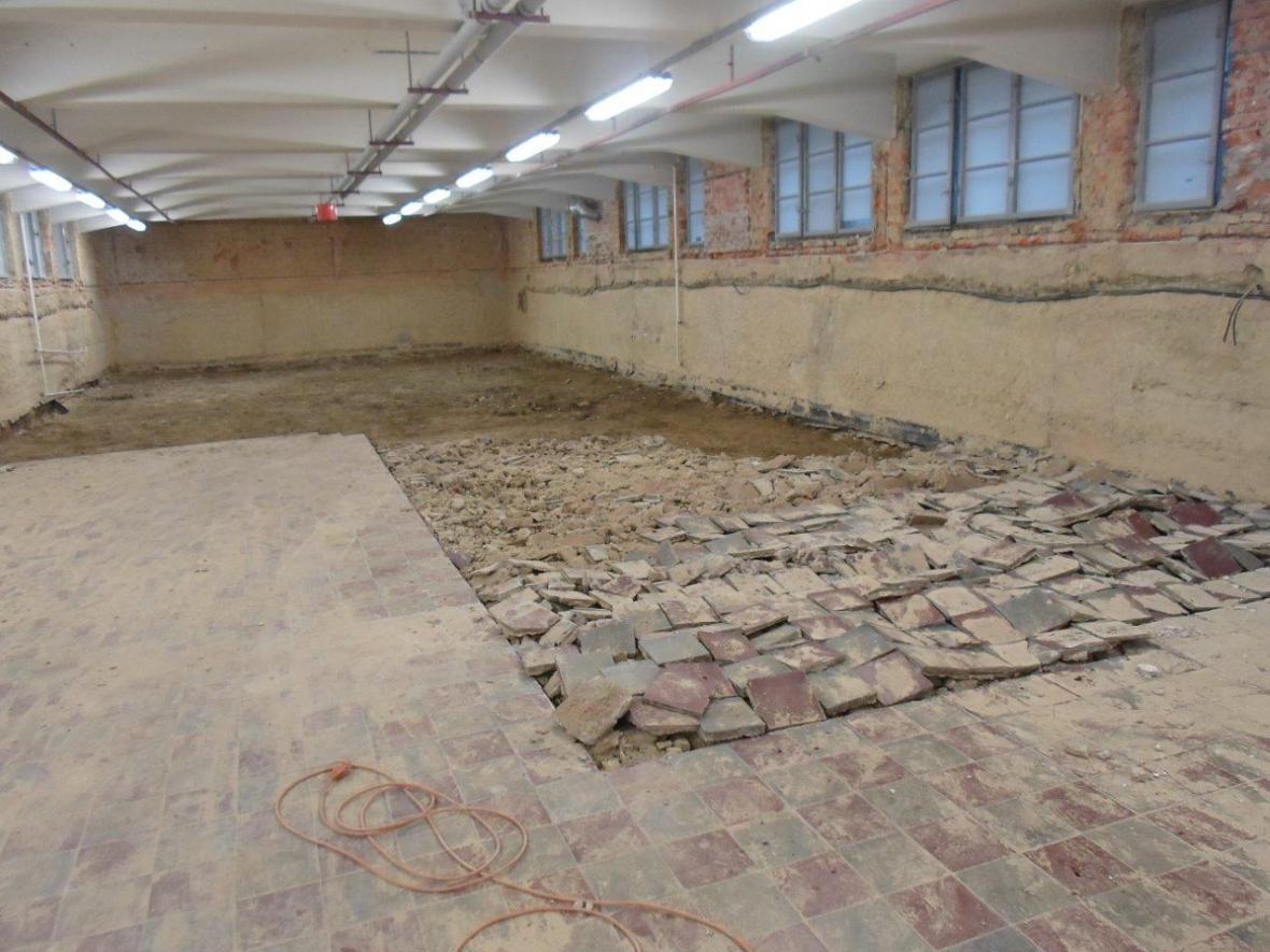 Rekonstrukce Domu umění Ostrava