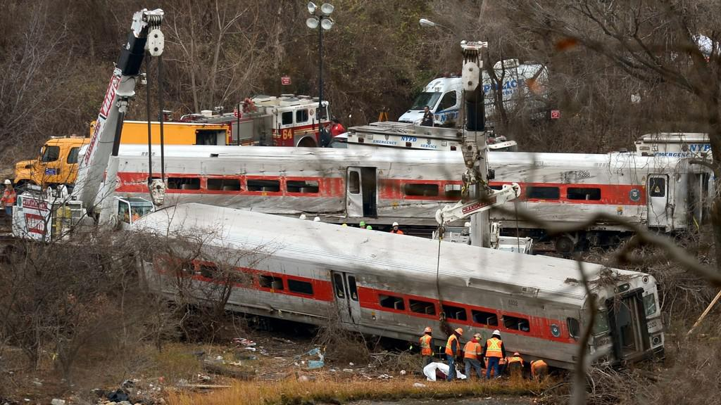 Nehoda vlaku v New Yorku