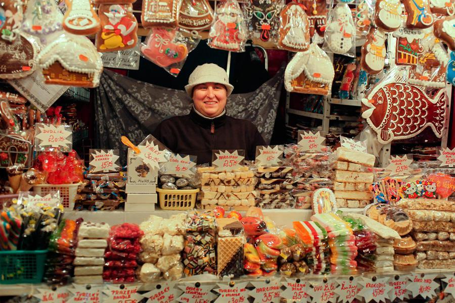 Vánoční trhy v Praze - Pardubický perník