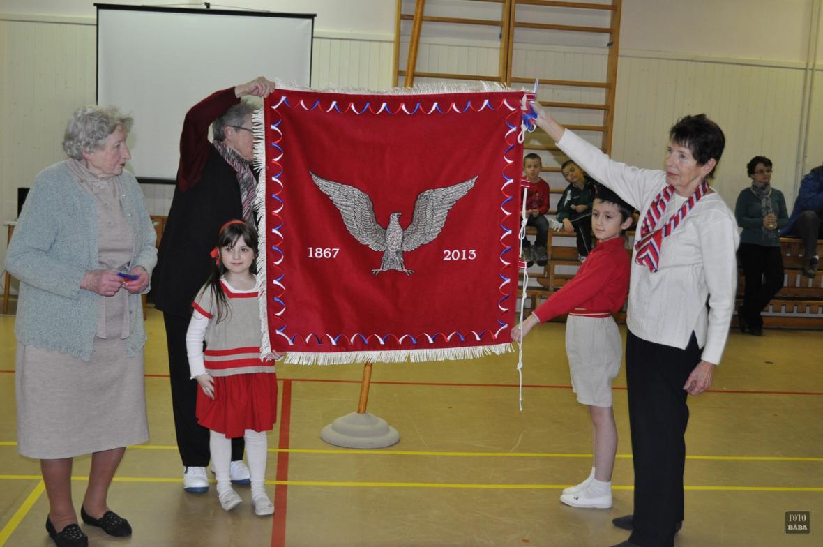 Sokolská oslava v Lounech