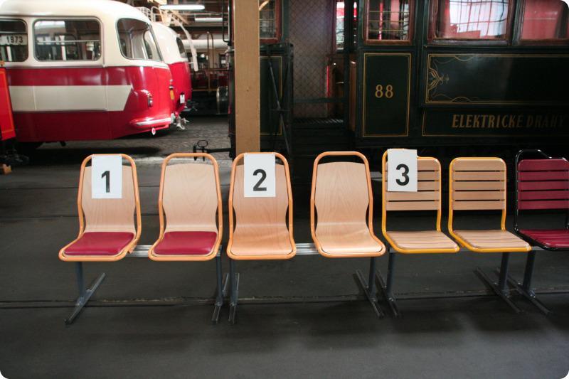 Srovnání sedaček pro MHD