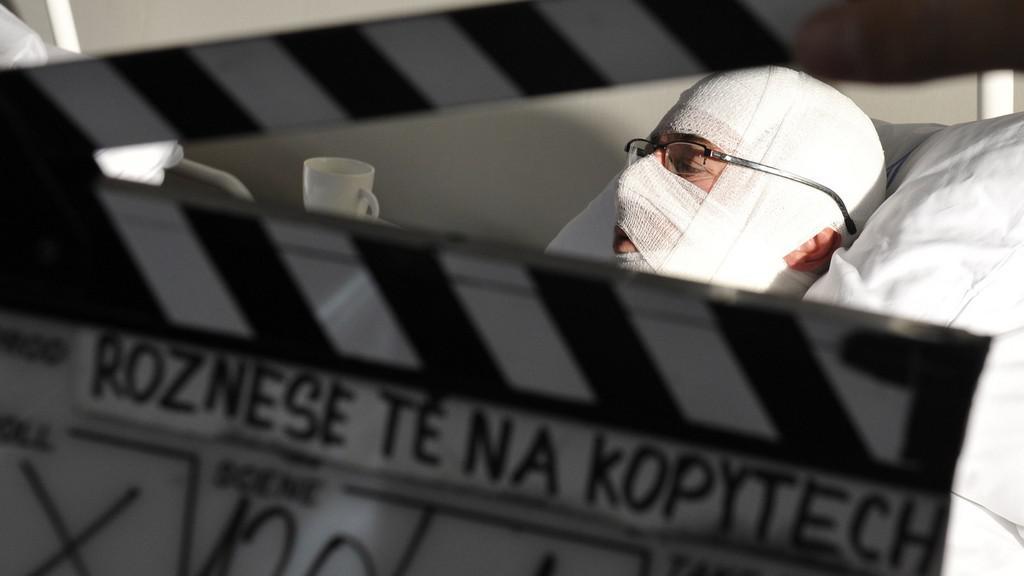 Natáčení filmu Roznese tě na kopytech