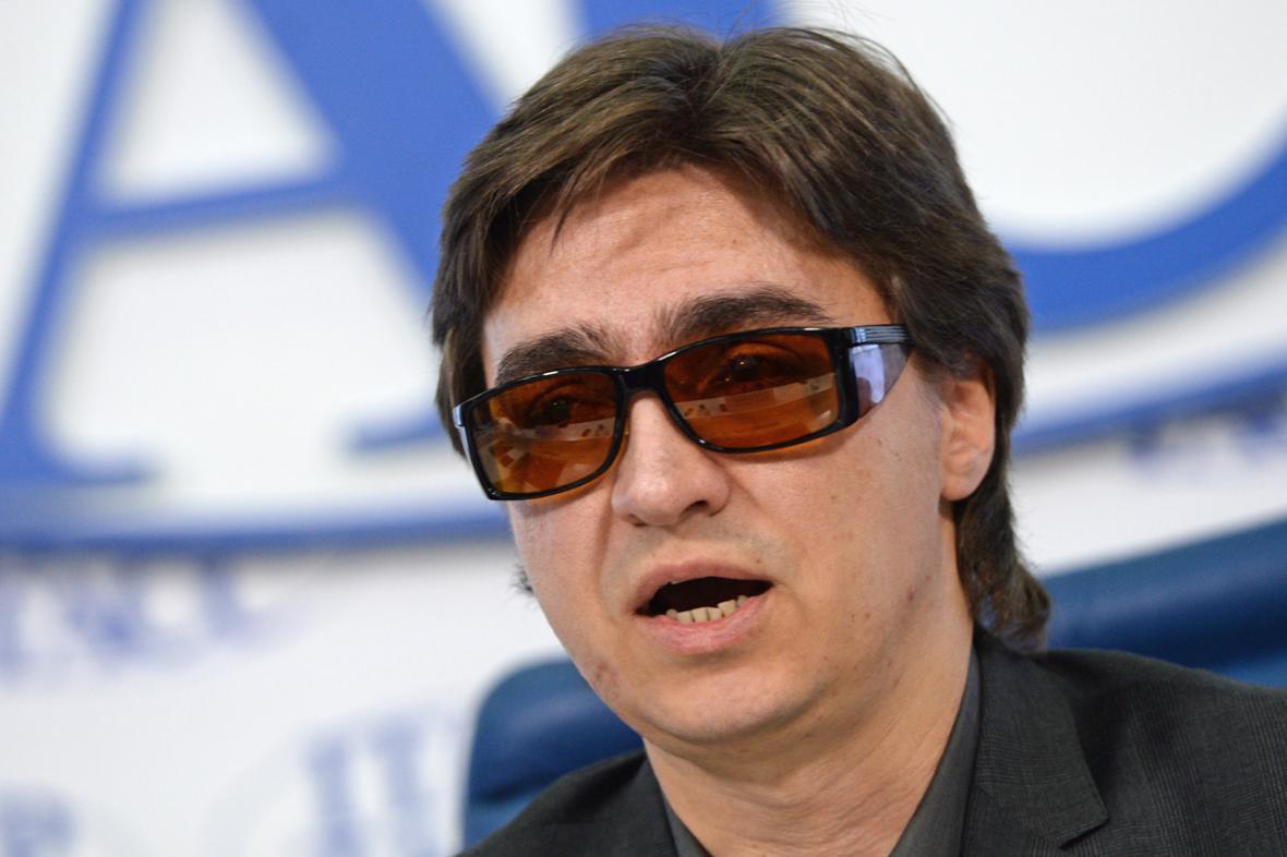 Sergej Filin na zářijové tiskové konferenci